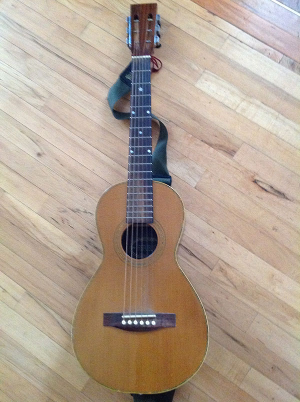 Republic parlor guitar